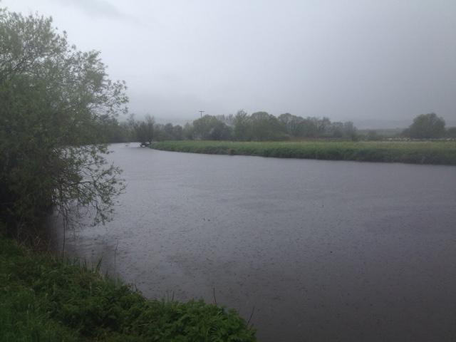 Was a creek